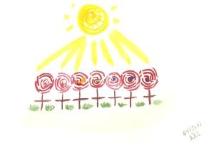 Cultivate our rose garden / Gül bahçemizi yetiştirelim