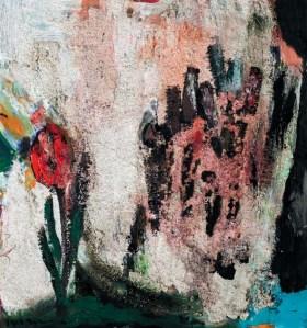 'Leyla'sız Mecnun' I, painting by Işıl S. Gönen