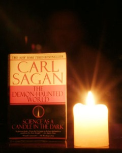 an analysis of carl sagans demon hunted world science as a candle in the dark