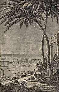 Volney, 'The Ruins'. 1820. Engraving by Bertault.