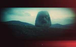 Still from the movie 'Zardoz', by director Frank Borman