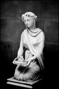 'Veiled vestal', by Raphael Monti.