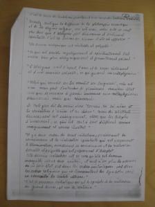 Quelques reflexions de Louis Cattiaux a propos de l'hermetisme et de l'Alchimie, choisis par Charles d'Hoogvorst. Page 2
