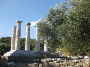 Sanctuary of the Great Gods, Samothrace. / Yüce tanrıların tapınağı, Semadirek Adası.
