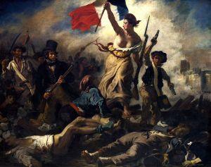 Eugene Delacroix-La liberte conduisant le peuple