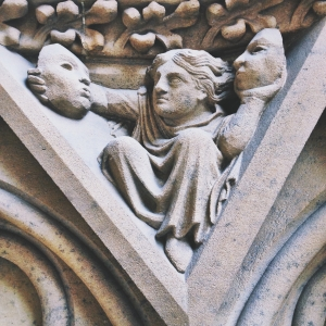 Bas-relief at the Metz Cathedral. Picture by Marie Guillaumet