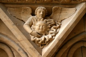 Bas-relief at the Metz Cathedral. Picture@ Azur.net