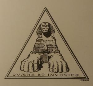 Vignette of the Publisher Pierre Genillard, Switzerland.