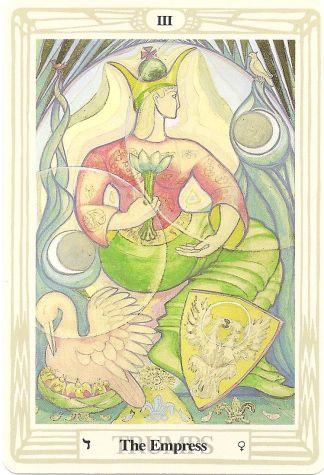 Arcana III_Thot tarot deck-Lady Frieda Harris