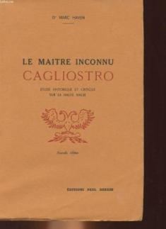 Cagliostro_Le maitre inconnu_Mark Haven