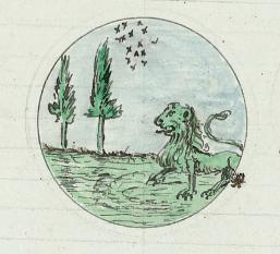 Alchimie du Maçon-Le lion vert