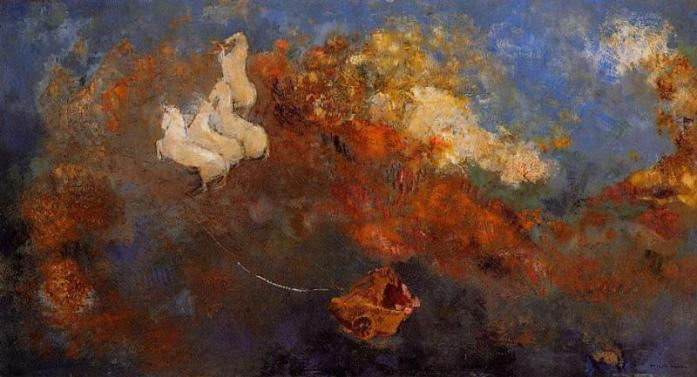 Apollo's chariot_Odilon Redon